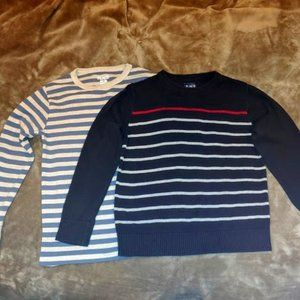 Striped Sweater Tops for Boy's by Children's Place